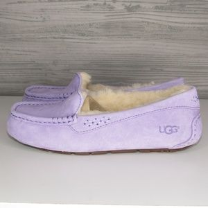 UGG Ansley Purple Zen Moccasin Slippers US 7